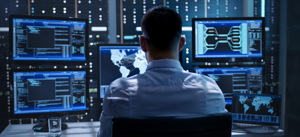 IT professional monitoring technology